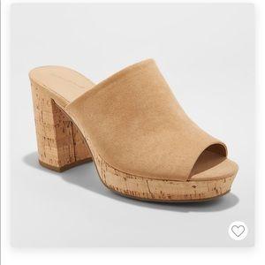Universal Thread Cork Sandals